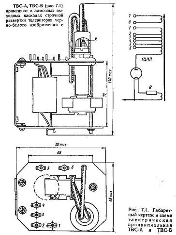 Трансформатор твс схема