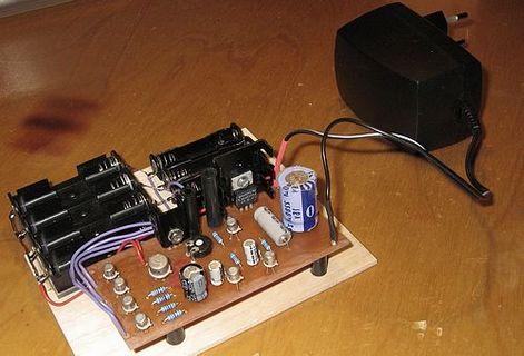 зарядка для батареек своими руками