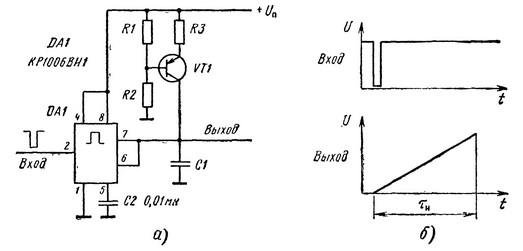 Схема на одновибраторе