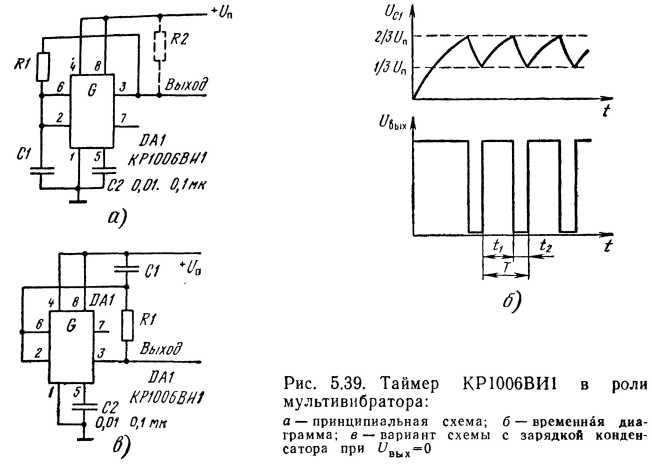 Электрические схемы на кр1006ви1